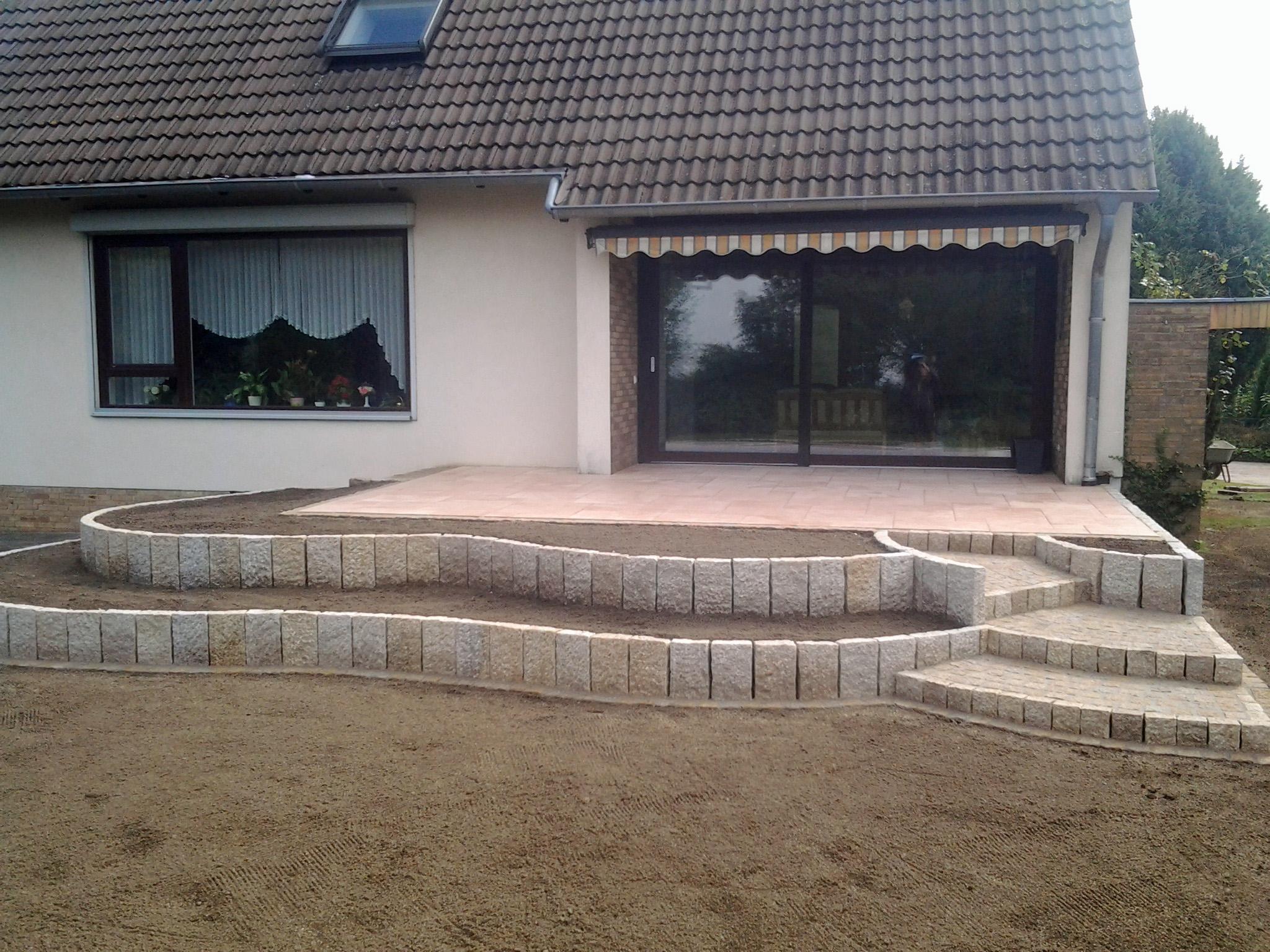 Steinterrassen Steinbach Gartengestaltung